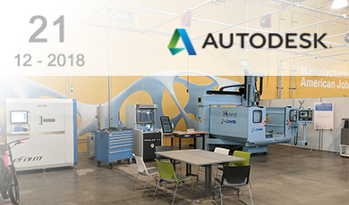 Farsoon exhibits at Autodesk Tour in DMDII